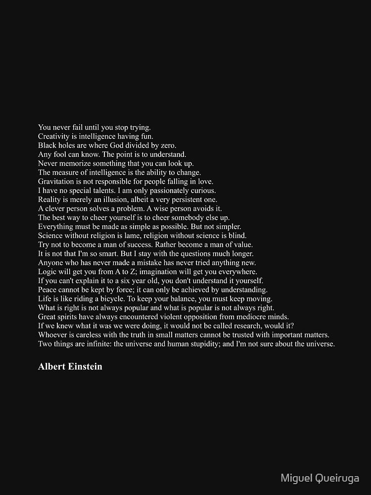 Albert Einstein Quotes by qqqueiru