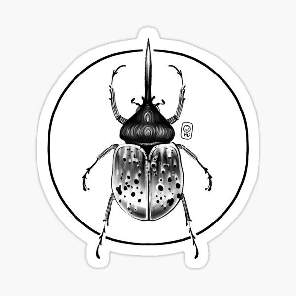 Hercules Beetle Sticker