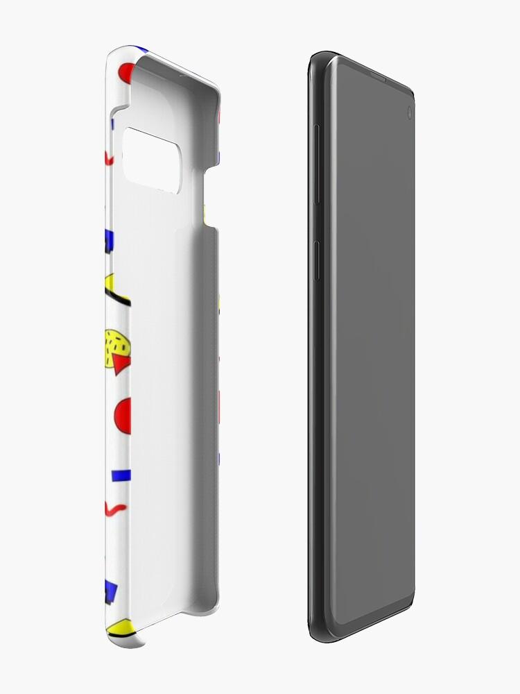 Alternative Ansicht von Emma Chamberlain Wildflower Fall Hüllen & Klebefolien für Samsung Galaxy