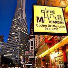 Café Macaroni, Financial District, San Francisco  by MARY-ANNandCO
