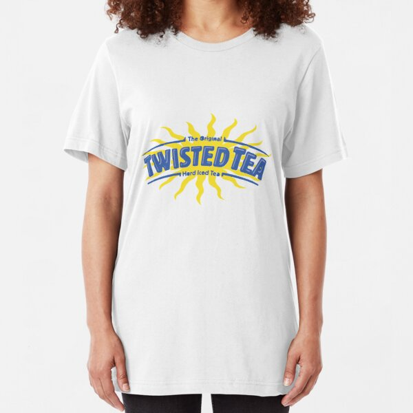 Twisted Tea Drink Slim Fit T-Shirt