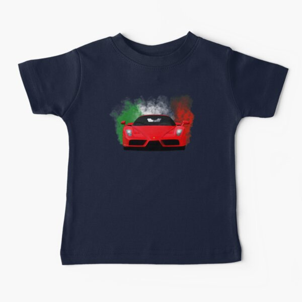 The Enzo Face Baby T-Shirt