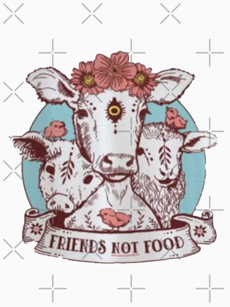 shirt - friends not food by Ismailameziane