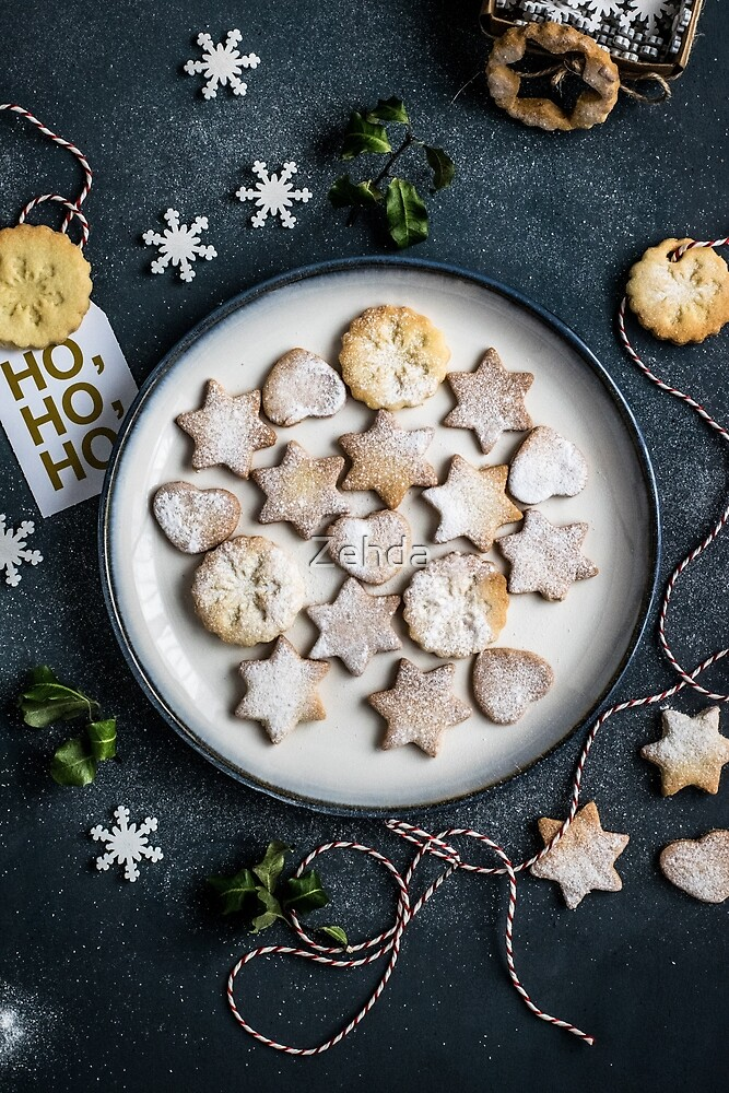 Christmas Cookies Holiday by Zehda