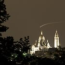 France - Paris 75019 - By night by Thierry Beauvir