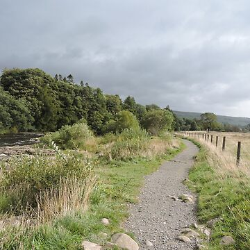 Stormy Yorkshire Pathway by CreativeEm