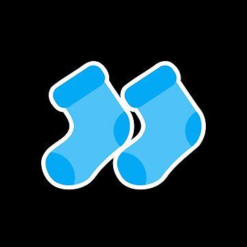 newborn baby boy socks by MisterSmithers