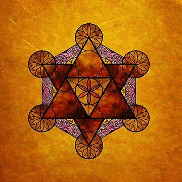 Sacred Geometry - Ignis Amber by RAFAROMAN