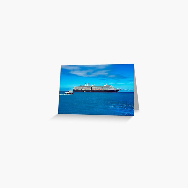 The MS Westerdam Greeting Card