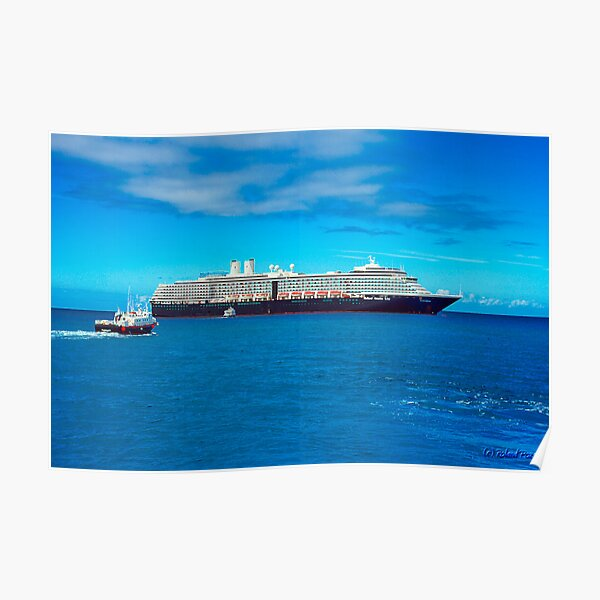 The MS Westerdam Poster