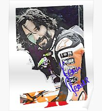 Keanu Reeves - Racing Game (by ACCI) Poster