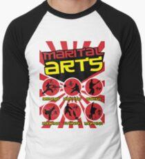 Marital Arts Men's Baseball ¾ T-Shirt