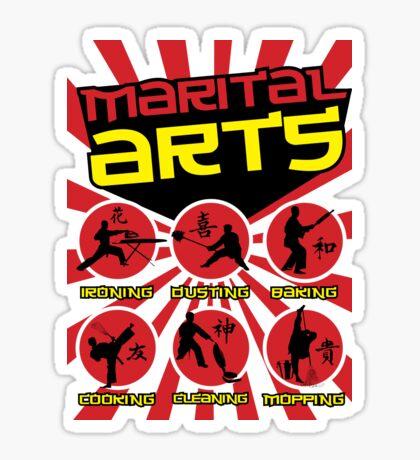 Marital Arts Sticker