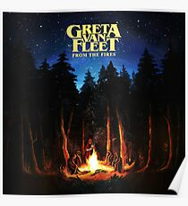 tindak greta from fires van fleet tour 2018 2019 Poster