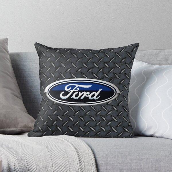 Ford Logo Throw Pillow