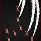 The Red Arrows  by Rory Trappe