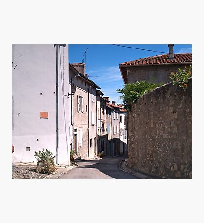 A Street in Saint-Lizier Photographic Print