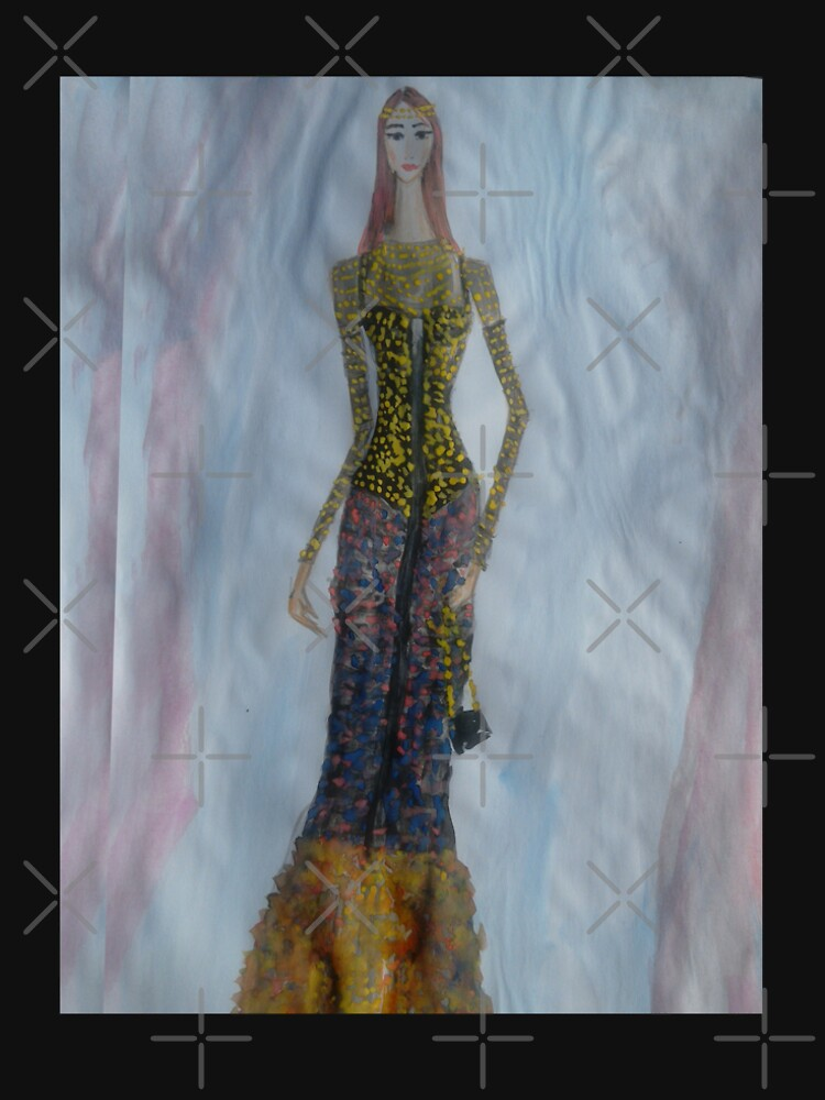 Royal Beauty Glam Gown (Fashion Illustration) by IvanaKada