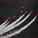The Red Arrows - 2  by Rory Trappe