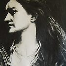 PRE RAPHAELITE DRAWING - 2 by suzanblac
