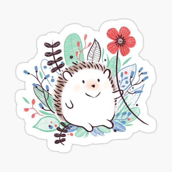 The Greeting Hedgehog Sticker