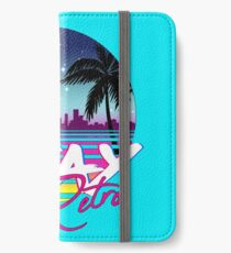 Stay Retro - Miami Vice Synthwave Nights  iPhone Wallet/Case/Skin