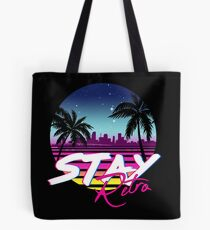 Stay Retro - Miami Vice Synthwave Nights  Tote Bag