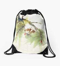 Seasons Greetings 4 Drawstring Bag