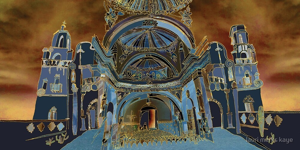 San Xavier Mission / A tucson Portrait Story by lauri marks kaye
