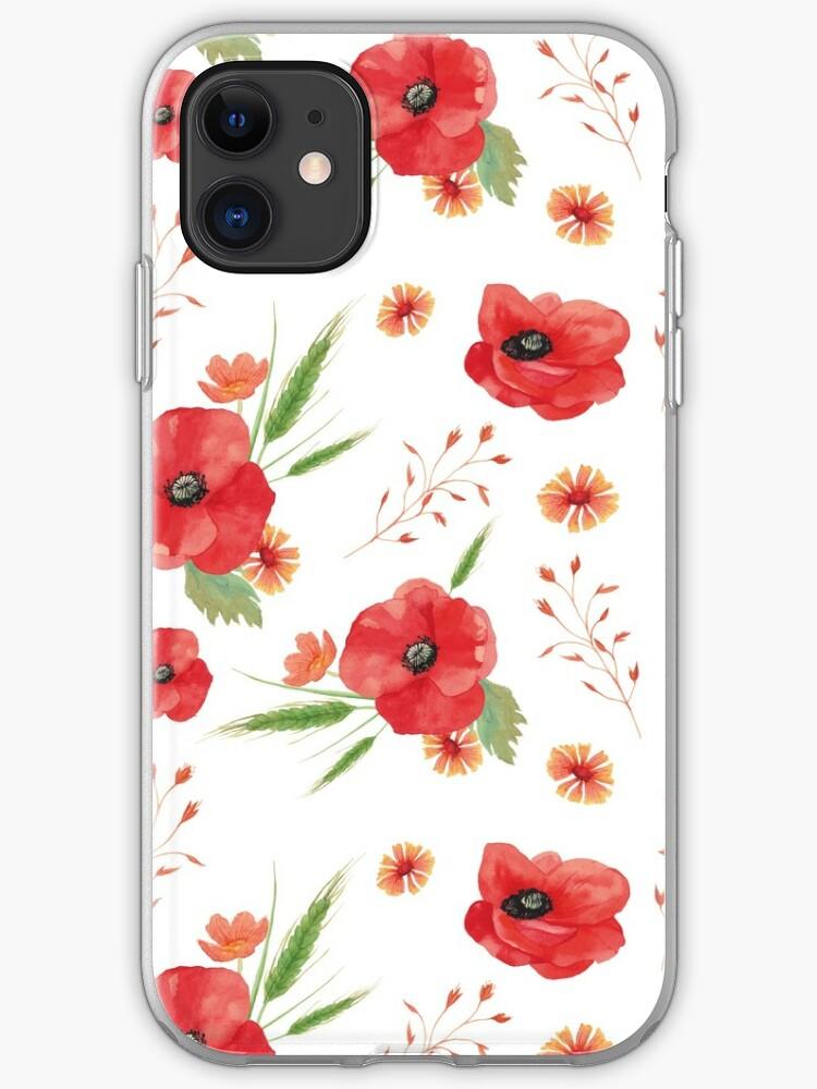 cover iphone 11 poppy