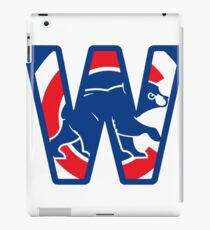 Chicago Cubs W iPad Case/Skin