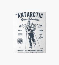 ANTARCTIC GREAT ADVENTURE    T-SHIRT   Art Board