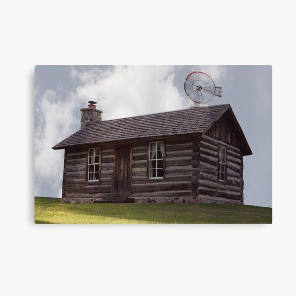 The Perkins Home Canvas Print