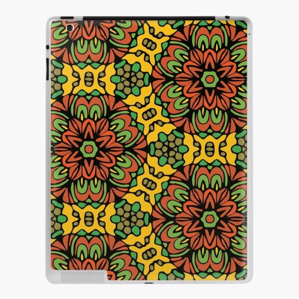 Woodland  Retro Floral Garden iPad Skin