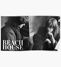 Beach House Band Poster