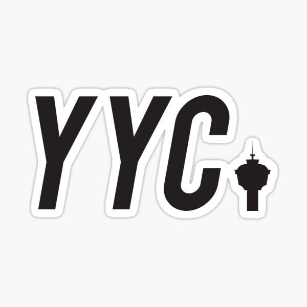 YYC Calgary Sticker