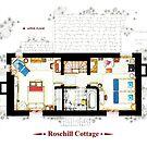 Rosehill Cottage from THE HOLIDAY - Upper floor B by Iñaki Aliste Lizarralde