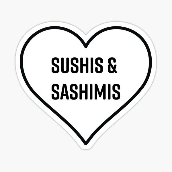 Sushis and Sashimis Sticker