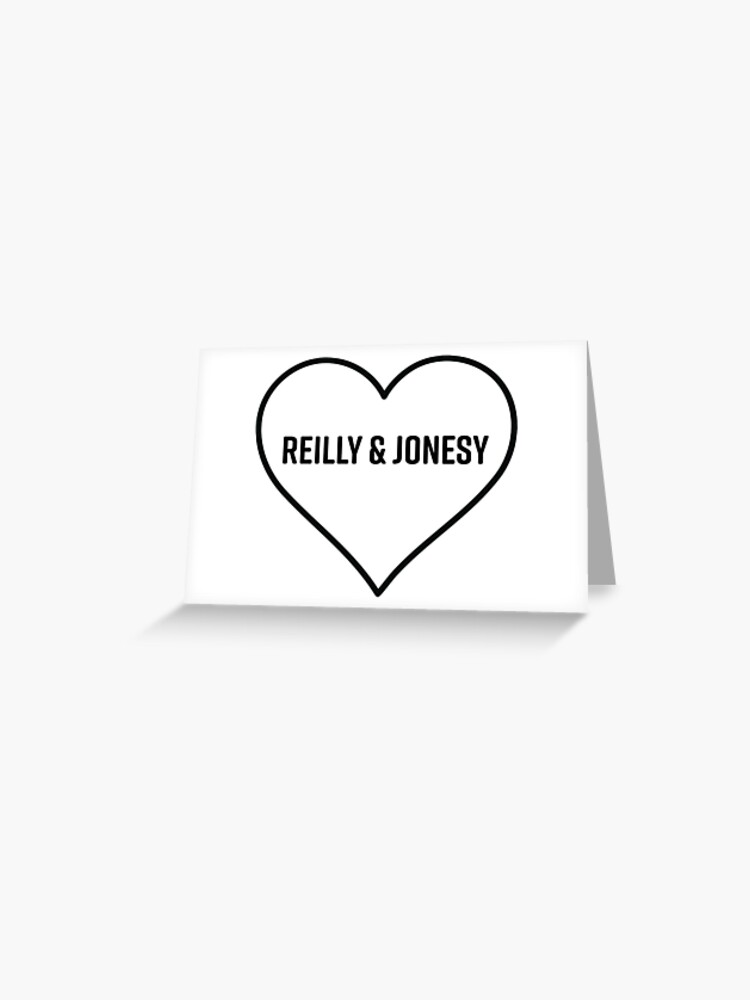 Reilly & Jonesy Letterkenny Heart | Greeting Card