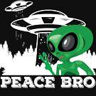 Frieden Bro Alien UFO von KingJames27x