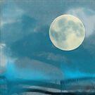 Waveform Blue Moon by organicarts
