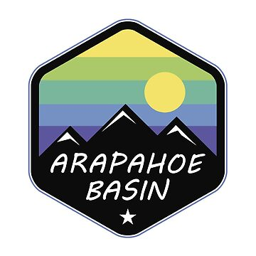 Ski Arapahoe Basin Colorado Skiing by MyHandmadeSigns