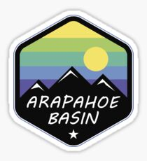 Ski Arapahoe Basin Colorado Skiing Sticker