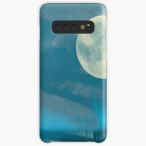 Waveform Blue Moon Samsung Galaxy Snap Case