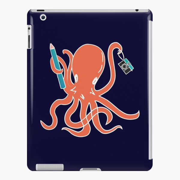 Squid of Creativity iPad Snap Case