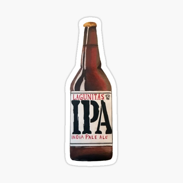 Lagunitas IPA Bottle Sticker