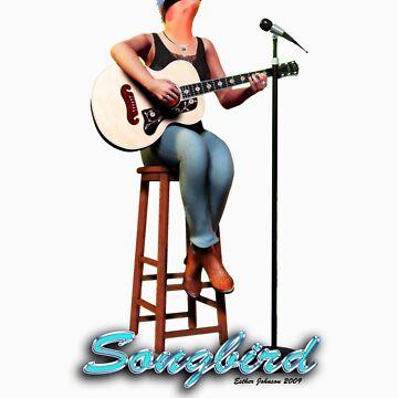 Songbird - The T Shirt by EstherJohnson