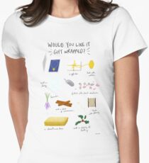 Would you like it gift wrapped? Women's Fitted T-Shirt