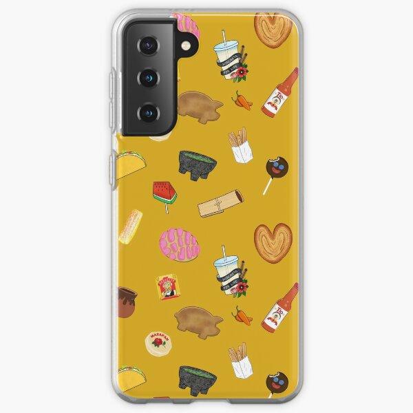 Antojitos - Yellow Samsung Galaxy Soft Case