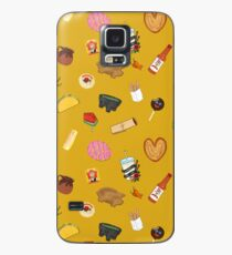 Antojitos - Yellow Case/Skin for Samsung Galaxy